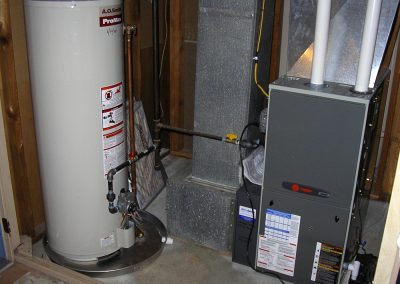 New Furnace and Water Heater